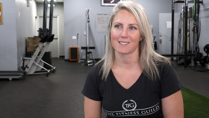 Jacqui Blanchette of The Fitness Guild in Downtown Belleville
